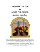 Libro di cucina di Anonimo Veneziano