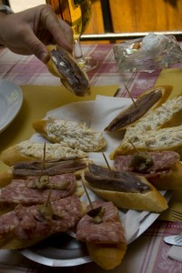 Selection of cicchetti
