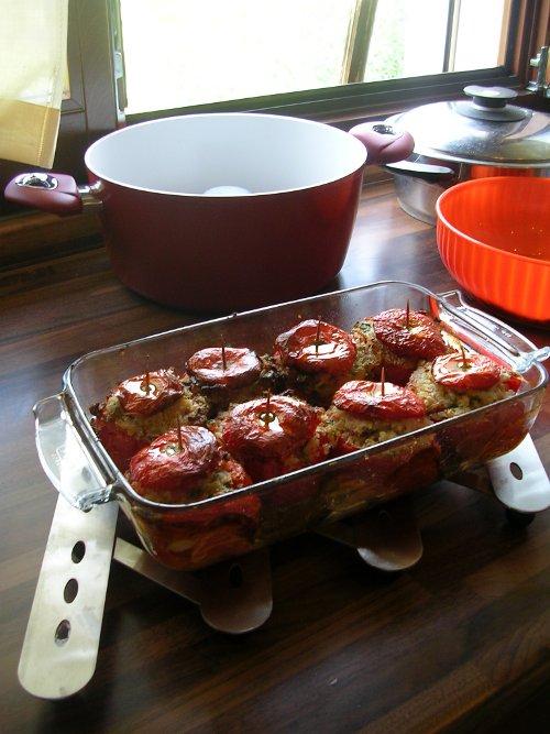 italian baked tomatoes