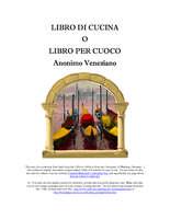 Libro di cucina di Anonimo Veneziano