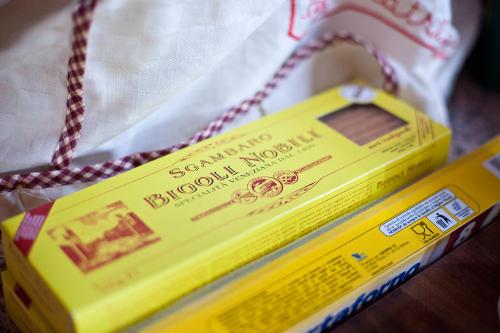 I Bigoli, long Venetian style spaghetti