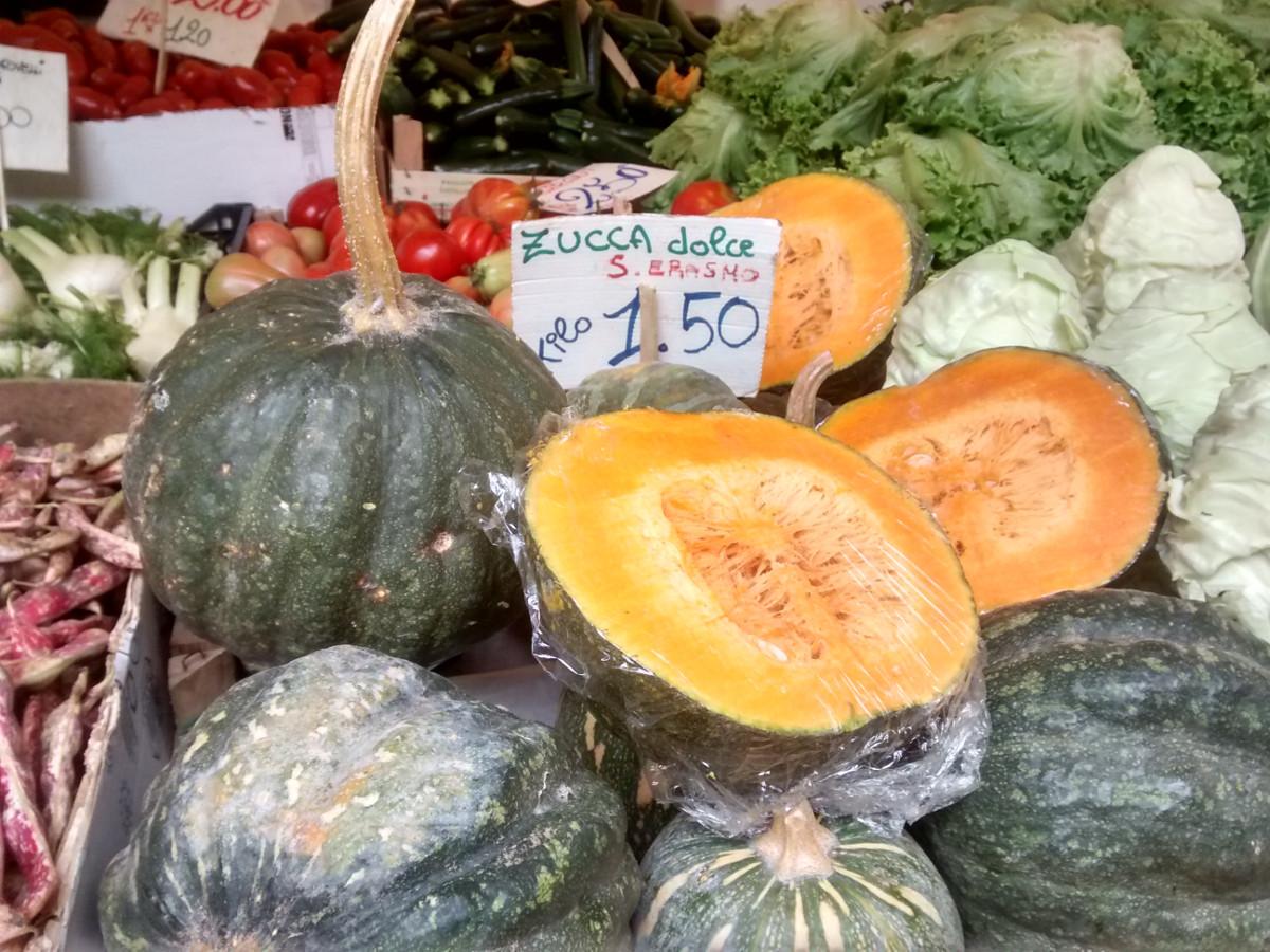 Pumpkin in Rialto Market