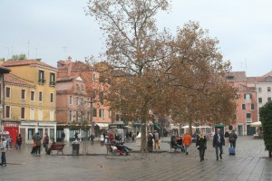 Campo Santa Margherita by Cook In Venice