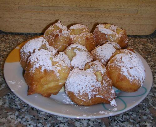 Frittelle - Cream Fried Puffs