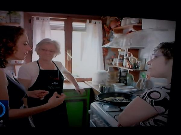 Ada, Monica and Alex Polizzi in Secret Italy