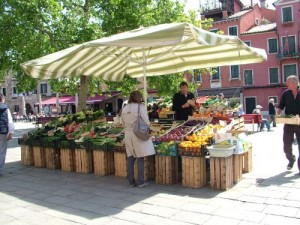 Shopping cooking classes in Venice