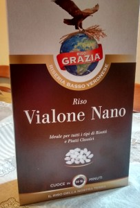 Vialone Nano rice for risotto - Cook In Venice