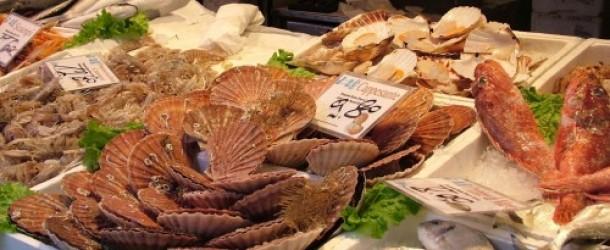 scallops baked italian