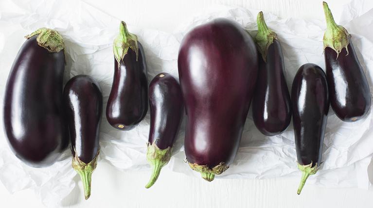 Eggplants by donna Moderna